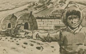 Anjikuni poblado esquimal